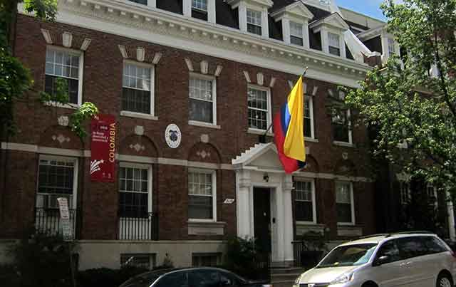 The Colombian Embassy Atlanta Location
